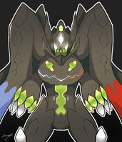 Zygarde by SaryArt16