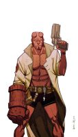 Hellboy by Maiolo