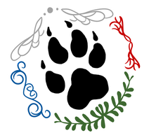 The BlackPaws Pack Logo by VictoriWind