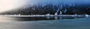 beautiful wintertime panorama by Artwork-Production
