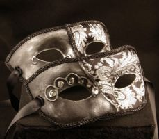 The Dark Couple Masks by EffigyMasks