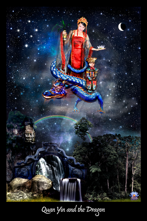 Quan Yin and the Dragon