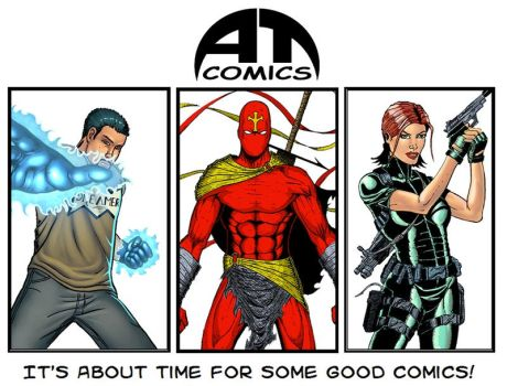 About Time Comics Promo Poster by jiles1