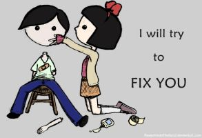 Fix you by PawprintsInTheSand