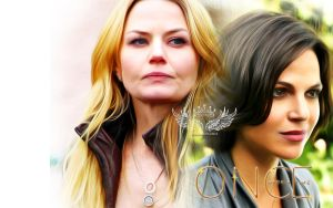 My 2nd Swan Queen Wallpaper by malshania
