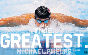 Michael MedalMachine Phelps by TheHawkeyeStudio