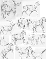 Sketches 3 by lennan