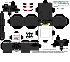 Dark Knight cubee part one by lovefistfury