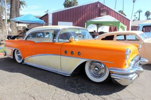 Cream and Tangerine Buick by DrivenByChaos