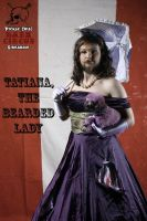 Tatiana the bearded lady by Picklethis