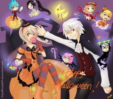 SE: Happy Halloween by TiiteMiissdu69