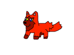 Drew the Red Poochyena by mrmenworld2010