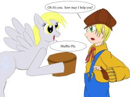 Derpy Meet Max by Paladin0