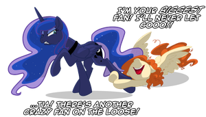 But I'm your biggest fan! by LunarCakez
