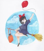 kiki's delivery service by chubbynugget