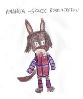 Amanda - Sonic Boom Style by dth1971