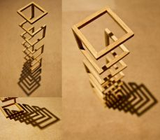 Structure Study: Balsa Wood by laura-kristen