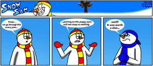 Snow Sam Comic 194 by BluebottleFlyer