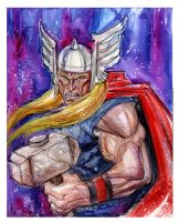 Quick Thor by ScottJames