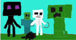 da minecraft bad mobs by spartantoast