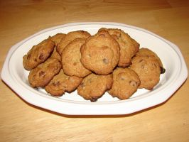 Chocolate Chip Cookies by FantasyStock