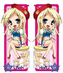 Lilah Bookmark by SpookyRuthy