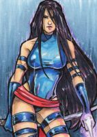 Commission: Psylocke by skardash