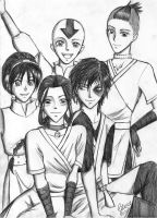 Team Avatar by eevee06121992
