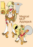 Magical mlp Applejack(Design Test) by skyshek