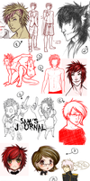 omg it's a sketchdump. by Calida