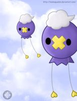 Little flying Balloons by TeamAquaDan