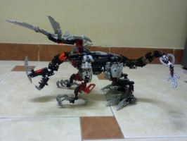 Bionicle Dragon by masterchief212