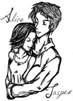 Alice and Jasper by GG-lover