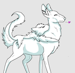 Free 'wolf' lineart or Base by KidateCalf
