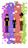 The IT Crowd wallpack by Stinky9