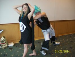 Setsucon 2014 Black star's surprise Attack! by fuzzybuggy1996