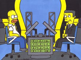 Homer on Millionaire by DJgames
