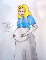 [Request] Pregnant Maria Robotink by JAM4077