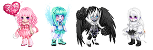 Gaia Adopts 3: FREE (closed) by pandalover68