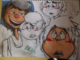 once-ler...faces sketches by chilica