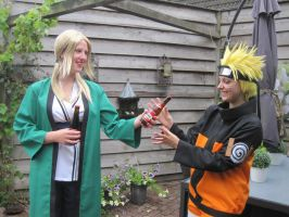 Want a beer, Naruto? by Maemi-Baisotei