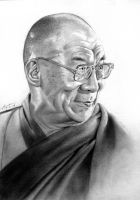 Tenzin Gyatso, The 14th Dalai Lama by FrankGo
