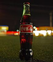 Keep calm and drink coke! by SilvikLeMe