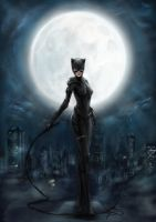 Catwoman by Makcon