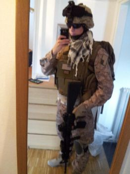 New USMC Airsoft Loadout by NordlingArt