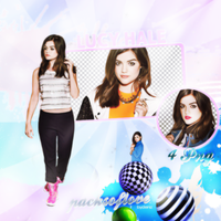 PNG PACK (50) Lucy Hale by DenizBas