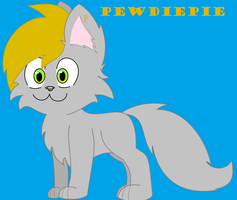 PewDiePie As A Kitteh! by Kittehsmoshfan