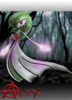 Bleak Dusk Gardevoir by alextremist