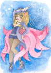 Ahri Popstar from LoL - Aquarelle by Togam