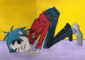 2D - Gorillaz by Kilbeth